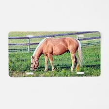 Unique Western horse Aluminum License Plate
