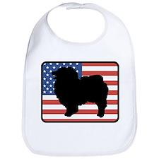 American Keeshond Bib