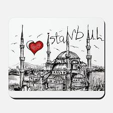 I love Istanbul Mousepad