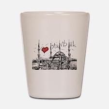 I love Istanbul Shot Glass