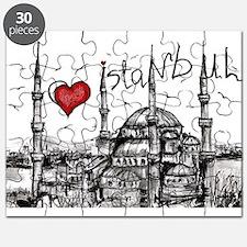 I love Istanbul Puzzle