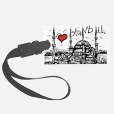 I love Istanbul Luggage Tag