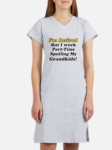 I'm Retired Women's Nightshirt