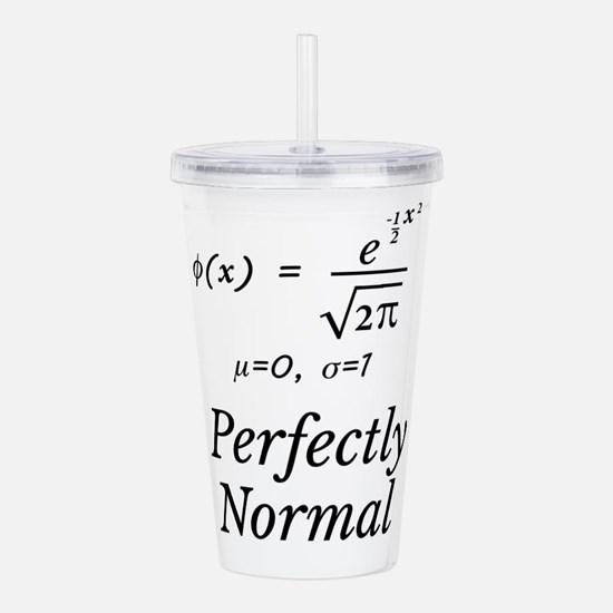 Unique Math Acrylic Double-wall Tumbler
