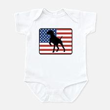 American German Shorthaired P Infant Bodysuit