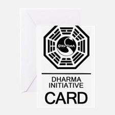 Cute Dharma initiative abc lost Greeting Card