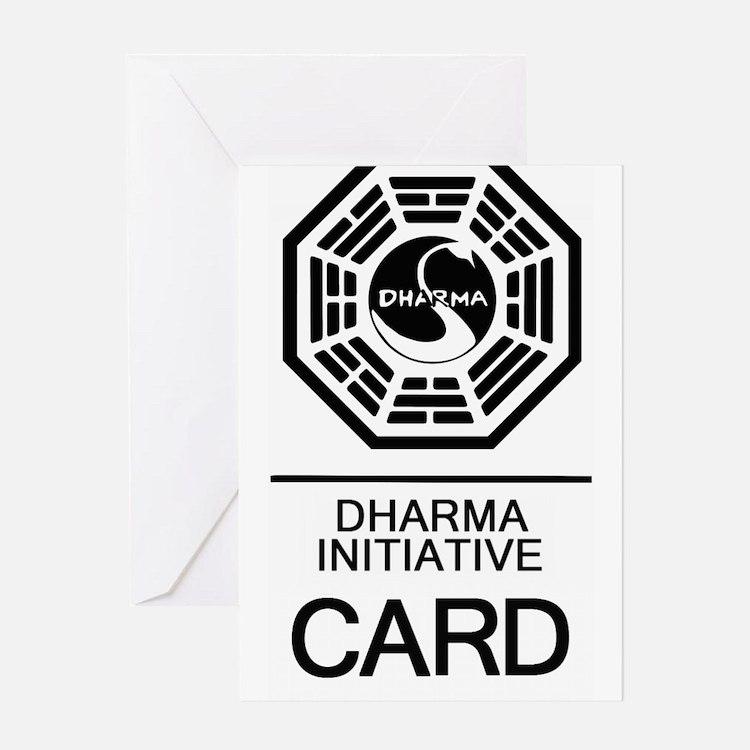 Cute Dharma Greeting Card
