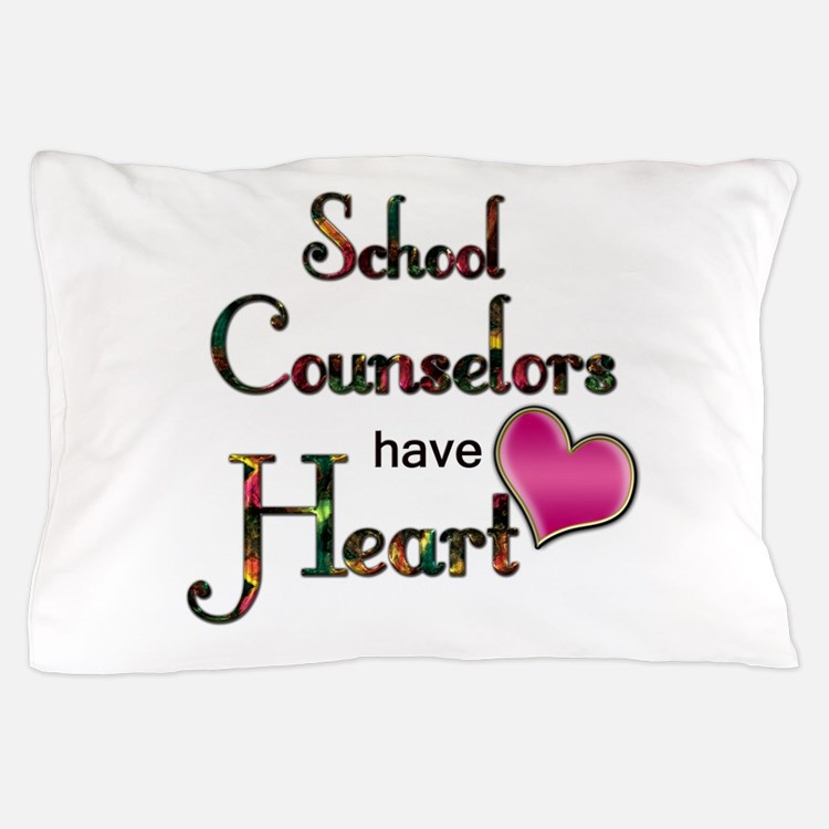 Teachers Have Heart counselors.png Pillow Case