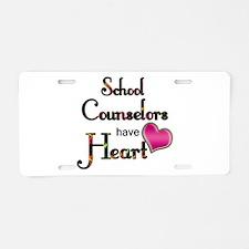 Teachers Have Heart counsel Aluminum License Plate