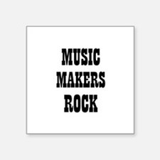 "Cute Noise maker Square Sticker 3"" x 3"""