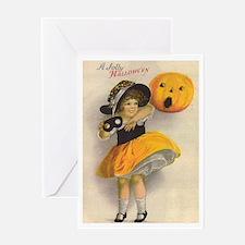 Jolly Halloween Greeting Card