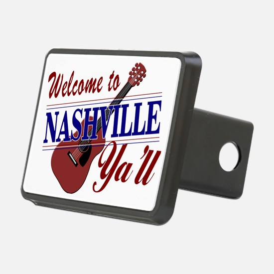 Welcome to Nashville Ya'll Hitch Cover