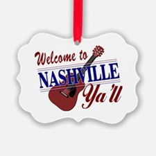 Welcome to Nashville Ya'll-01 Ornament
