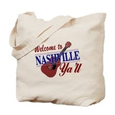 Welcome to Nashville Ya'll-01 Tote Bag