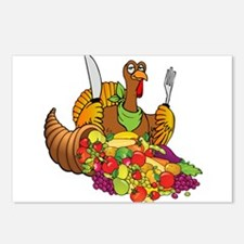 Cornucopia and Vegan Turk Postcards (Package of 8)
