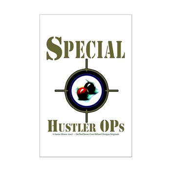 Special Hustler Ops Code Name Pool Poster
