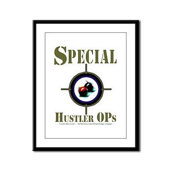 Special Hustler Ops Code Name Billiards Framed Print