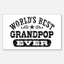 World's Best Grandpop Decal