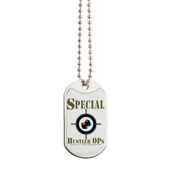 Covert Billiard Mission - Special Hustler Ops Dog Tags