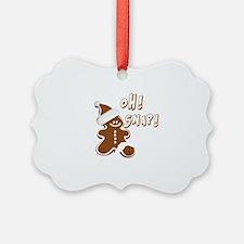 OH SNAP Gingerbread Man Ornament