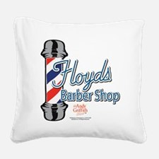 Floyds Barber Shop Square Canvas Pillow
