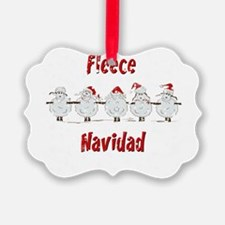 FUNNY Christmas Fleece Navidad S Ornament