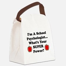 School Psychologist Canvas Lunch Bag