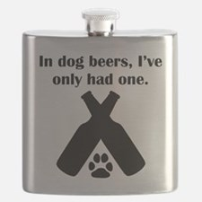 In Dog Beers Flask