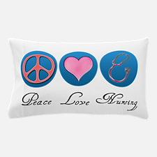 Peace, Love, Nursing Pillow Case