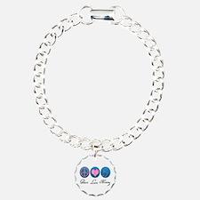 Peace, Love, Nursing Bracelet