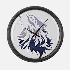 Wolf Large Wall Clock