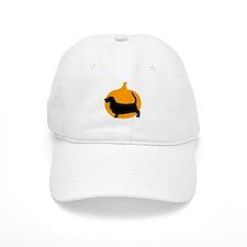 Basset Hound Halloween Baseball Cap
