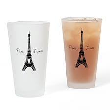 Paris France Drinking Glass