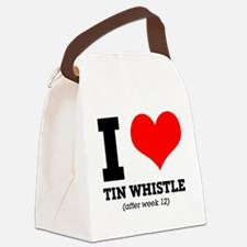 I love tin whistle (after week 12 Canvas Lunch Bag