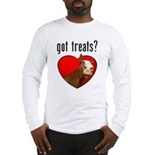 Got Treats? Cute Horse Long Sleeve T-Shirt