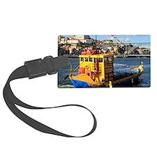 Rabelo boat, Porto, Portugal Luggage Tag