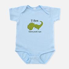 T-Rex hates push-ups Body Suit