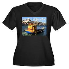 Rabelo boat, Porto, Portugal Plus Size T-Shirt