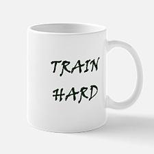 TRAIN HARD Mugs