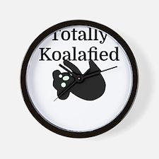 Totally Koalafied Wall Clock
