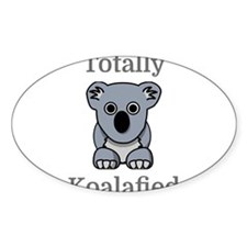 Totally Koalafied Decal