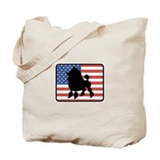 American Toy Poodle Tote Bag