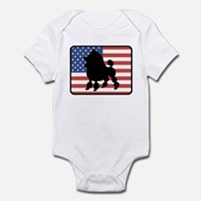 American Toy Poodle Infant Bodysuit