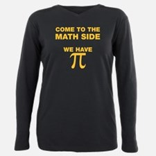 Unique Come to the dark side we have cookies Plus Size Long Sleeve Tee