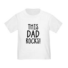 This Dad Rocks! T-Shirt