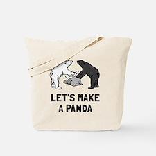 Let's make a panda Tote Bag
