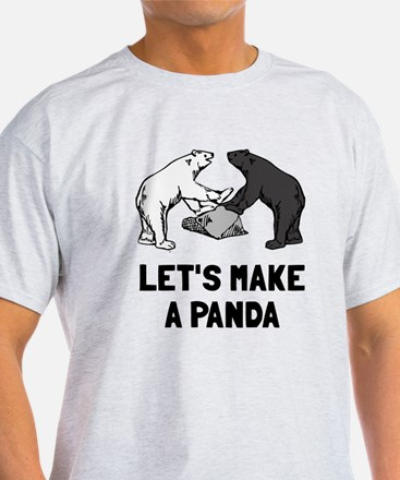 Let's make a panda T-Shirt