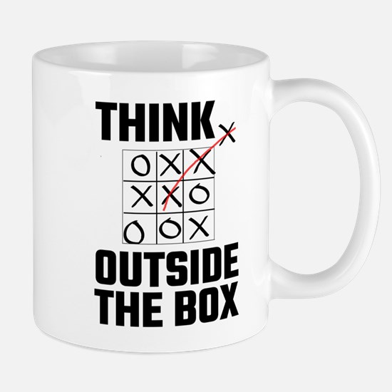 Think Outside The Box Mugs