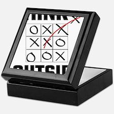 Think Outside The Box Keepsake Box