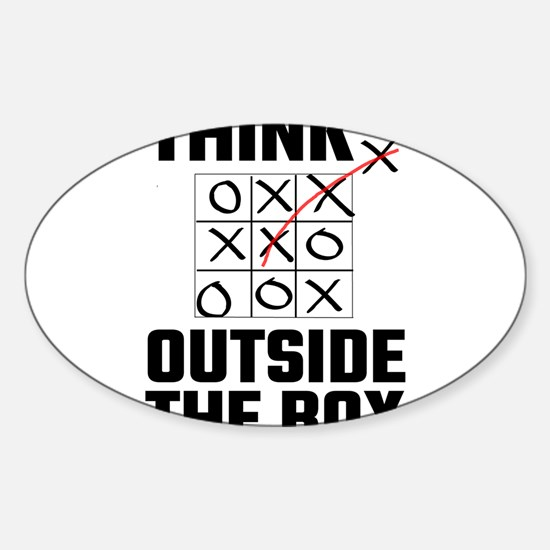 Think Outside The Box Decal